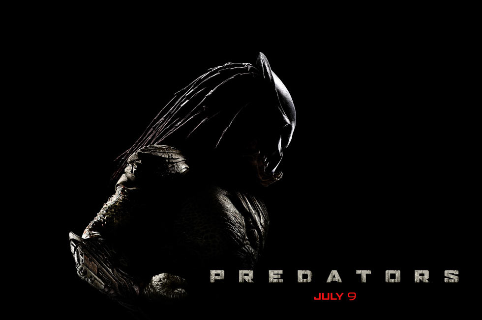 predators poster Predators trailer   In theaters: July 9th, 2010