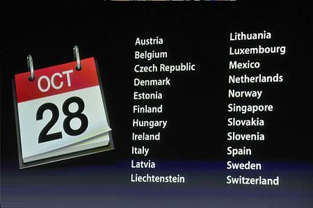 iPhone 4S Calendar