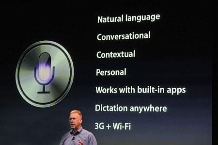 iPhone 4S speech recognition
