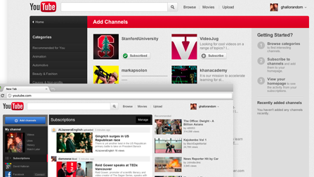youtube new look Youtube New Interface   New Look