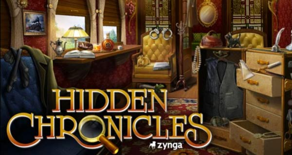 hidden chronicles Zynga published new game: Hidden Chronicles