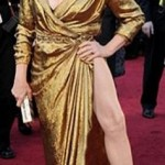 Angelina Jolie Right Leg
