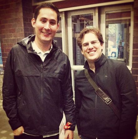 Mike Kriegger and Kevin Systrom Instagram app for Android