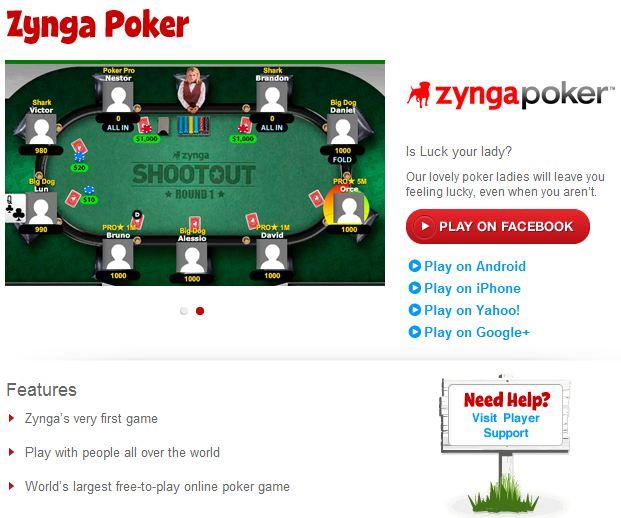 Zynga Poker Zynga Poker