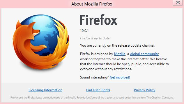 How can I manually update firefox Download Firefox 12