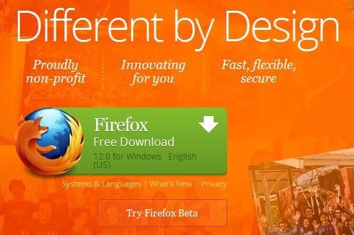 Download Firefox 12